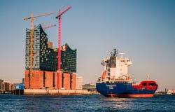 Hamburg-Elbphilharmonie Royalty-vrije Stock Foto