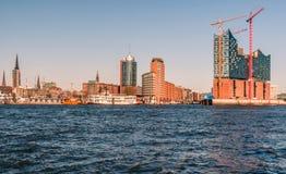 Hamburg-Elbphilharmonie Royalty-vrije Stock Afbeeldingen