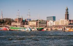 Hamburg-Rickmer Rickmers Royalty-vrije Stock Fotografie