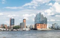 Hamburg, Elbphilharmonie, Speicherstadt Lizenzfreies Stockfoto
