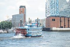 Hamburg, Elbphilharmonie, Speicherstadt Lizenzfreies Stockbild