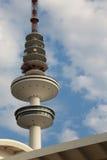 Hamburg Fernsehkontrollturm stockbilder