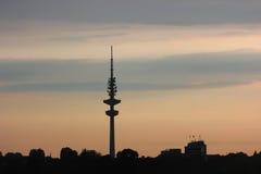 Hamburg Fernsehkontrollturm Lizenzfreie Stockfotos