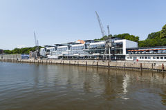 Hamburg Fischereihafen, editorial Stock Photography