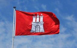 Hamburg_flag Imagens de Stock Royalty Free
