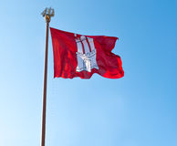 Hamburg flag Stock Photos