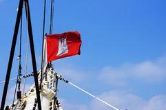 Hamburg flag Royalty Free Stock Photos
