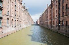 Hamburg flod Royaltyfri Foto