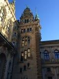 Hamburg, Germany. Beautiful Hamburg, Germany. Nice building Royalty Free Stock Photos