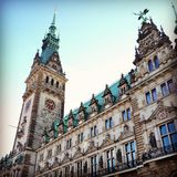 Hamburg, Germany. Beautiful Hamburg Germany. Nice building Stock Photos