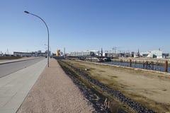 Hamburg (Germany) - Building site of the Hafencity Royalty Free Stock Photo