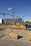 Hamburg (Germany) - Building site of the Hafencity Stock Images