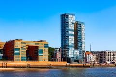 Speicherstadt district in Hamburg city, Germany stock photo