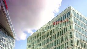 HAMBURG, GERMANY: Establishing shot of the Spiegel building. stock footage