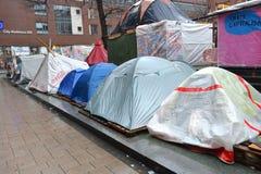 Occupy Hamburg camp Royalty Free Stock Photos