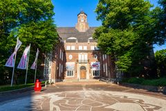 Museum for Hamburg History, Germany royalty free stock photography