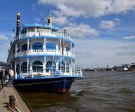Steamer - Steam Boat, Hafengeburtstag St. Pauli-Landungsbrucken. Hamburg, Germany - May 11, 2019:  Steamer - Steam Boat, Hafengeburtstag St. Pauli stock images