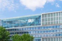 HAMBURG, GERMANY - MAY 22, 2016: ZDF television offices. Stock Image