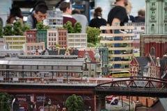 Hamburg, Germany - 9-27-2017: Miniature Wonderland in Hamburg, G. Ermany Stock Photos