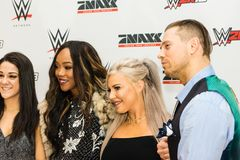 Impressions from the Red Carpet Event during the WWE Live Tour 2017, Hamburg, Germany Royalty Free Stock Images