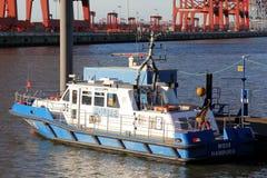 Police patrol boat Stock Photos