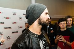 Impressions from the Red Carpet Event during the WWE Live Tour 2017, Hamburg, Germany Stock Images