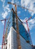 Hamburg, Germany Opera House. Under Construction Royalty Free Stock Image
