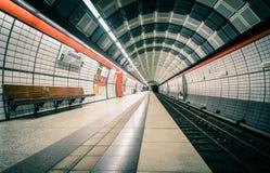 Empty station Royalty Free Stock Photo