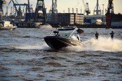 Waterski Show, Harbor Anniversary St. Pauli-Landungsbrucken