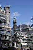 Hamburg Gruner u. Jahr und das Hamburg Michel Stockfotografie
