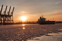 Hamburg-Hafen Stockfoto