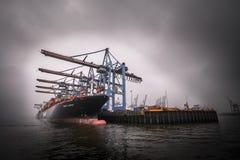 Hamburg-Hafen Stockbilder