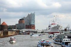 Hamburg-Hafen Lizenzfreies Stockbild
