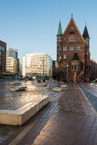 Hamburg Hafen - historic City Stock Photography