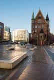 Hamburg Hafen - historic City Stock Photography