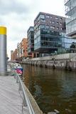 Hamburg HafenCity Stock Image
