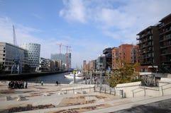 Hamburg - hafencity Fotografering för Bildbyråer