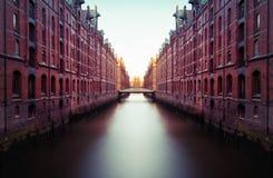 Hamburg HafenCity Stock Photography