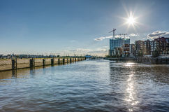 Hamburg Hafencity HDR Stock Images