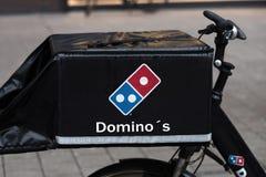 Dominos pizza bike in hamburg germany