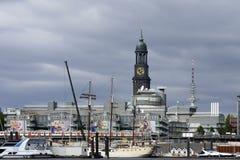 Hamburg hamn Royaltyfri Foto