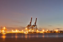 Hamburg  harbor Royalty Free Stock Photos