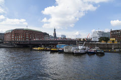 Hamburg harbor Royalty Free Stock Image