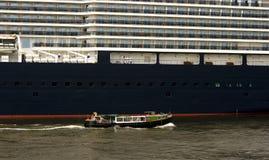 Hamburg Harbor Ship Royalty Free Stock Photography