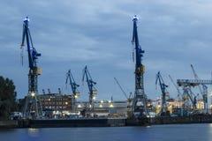Hamburg harbor Royalty Free Stock Image