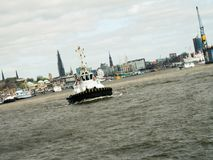 Hamburg Harbour tug boat. Royalty Free Stock Photos