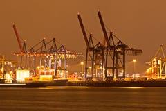 Hamburg harbour Stock Photos