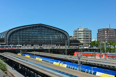 Hamburg Hauptbahnhof - central train station Stock Photos