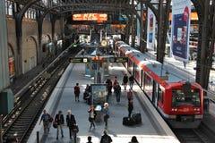 Hamburg Hauptbahnhof Stock Image
