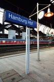 Hamburg Hbf train station Royalty Free Stock Image